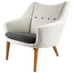 Kurt Ostervig 1950s Danish Lounge Chair