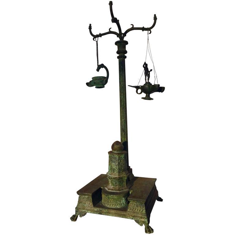 Bronze Table Lamp