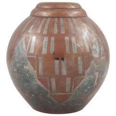 Art Deco Dinanderie Vase