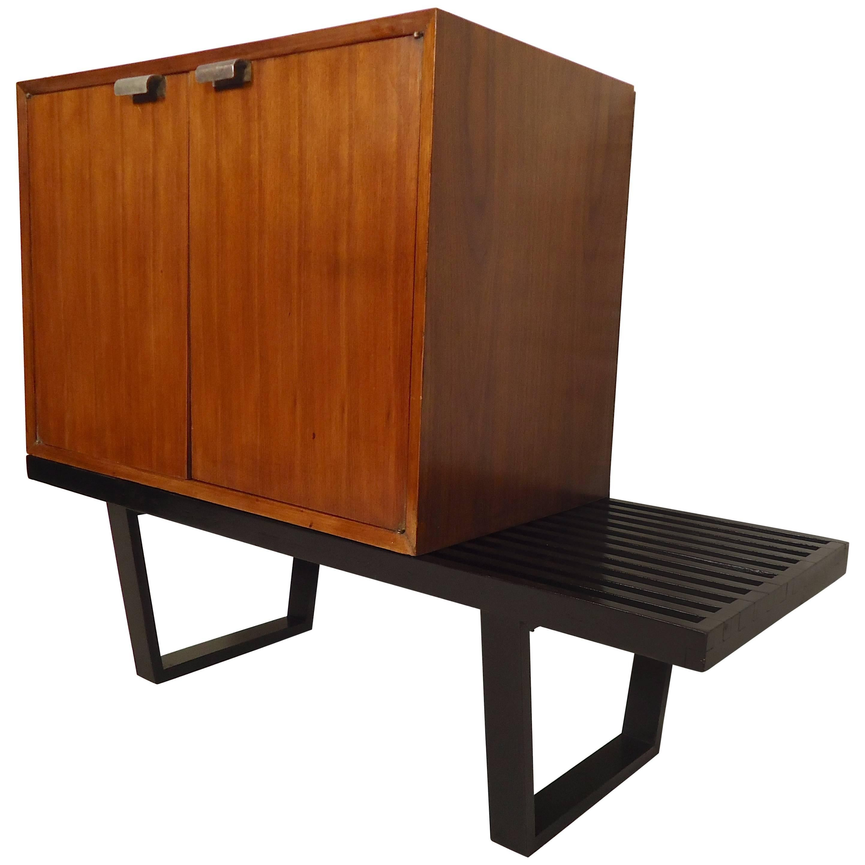 George Nelson for Herman Miller Modular Cabinet and Bench