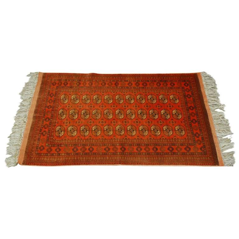 Vintage Turkoman Tekeh Rug For Sale At 1stdibs