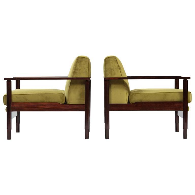 Pair of Italian Armchairs