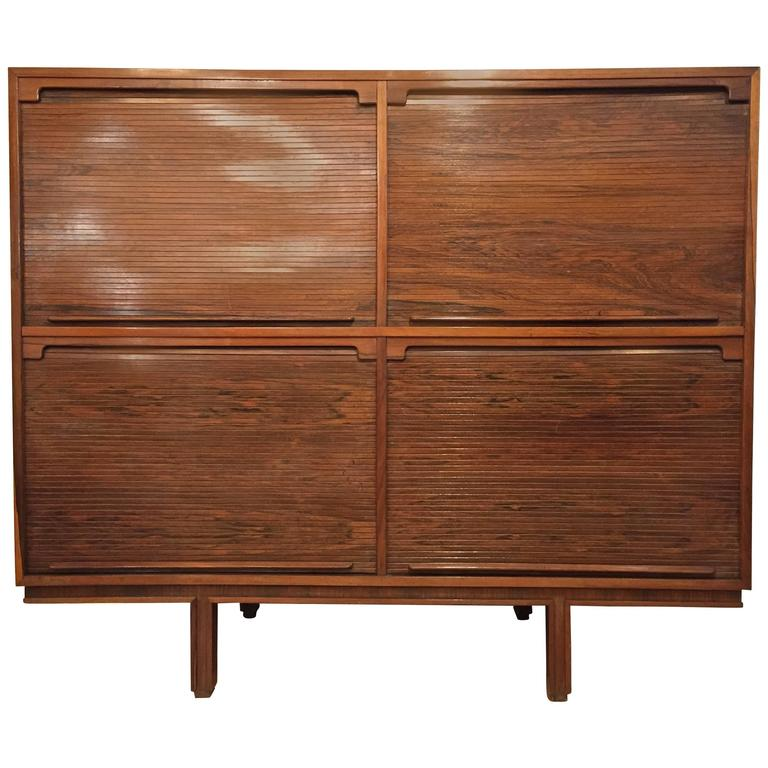 Gianfranco Frattini Cabinet for Bernini For Sale