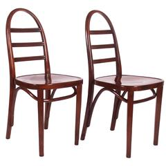Pair of Art Deco Thonet Chairs
