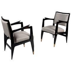 Pair of Armchairs by Raphael Raffel, France, circa 1954