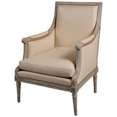 Single Bergere by George Jacob, Maitre 1765, France, Louis XVI, circa 1780