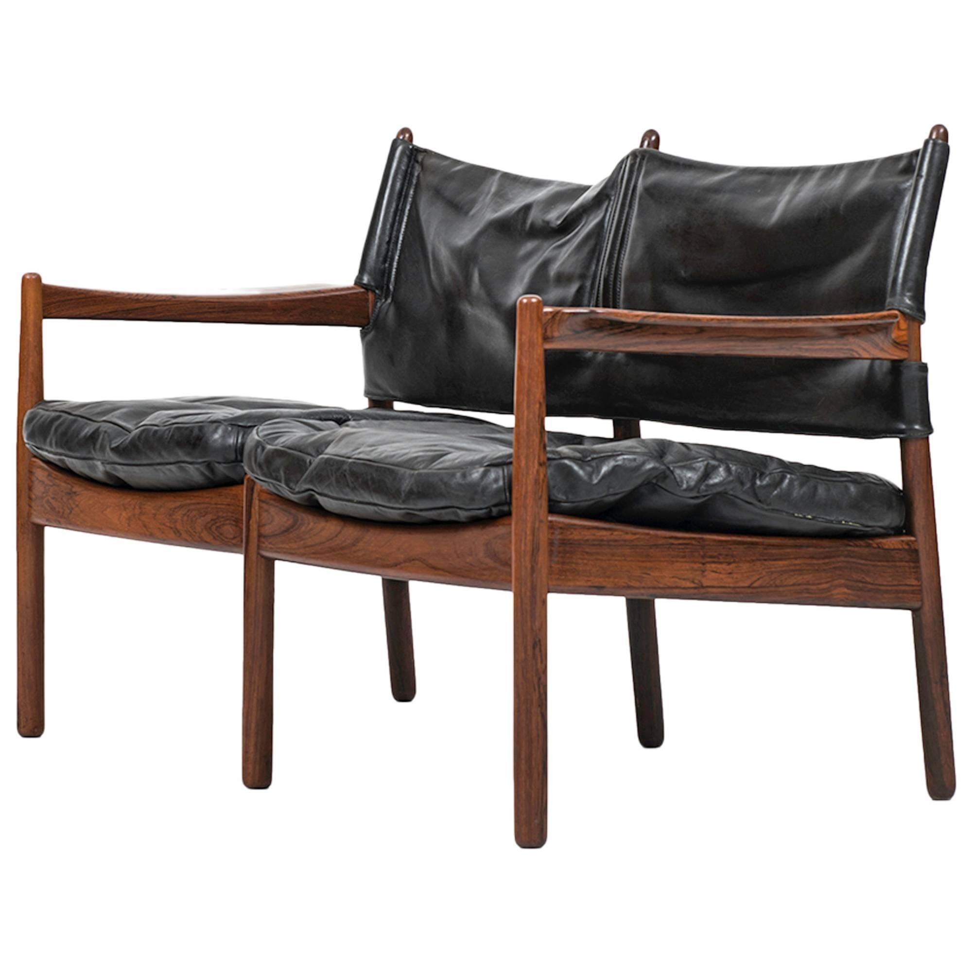 Gunnar Myrstrand Two-Seat Sofa by Källemo in Sweden