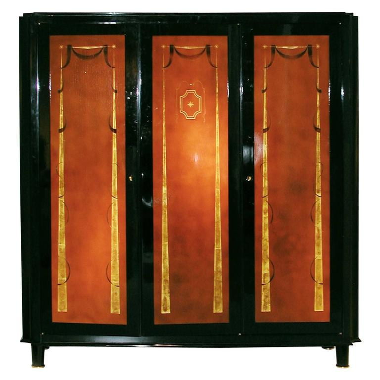 Three-Door Cabinet, France, circa 1940 For Sale