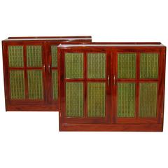 Pair of Cabinets by Edward Barnsley, England, Art Moderne, 1956-1957