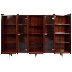 Bookcase or Vitrine by Osvaldo Borsani, Italy, Art Moderne, circa 1950