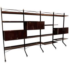 Bookcase by Ico Parisi Designed for MIM Roma Italy, circa 1955