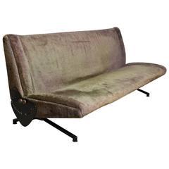 Iconic Tecno D70 Sofa Daybed Designed by Osvaldo Borsani