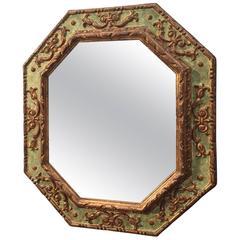 Italian 19th Century Octagonal Mirror