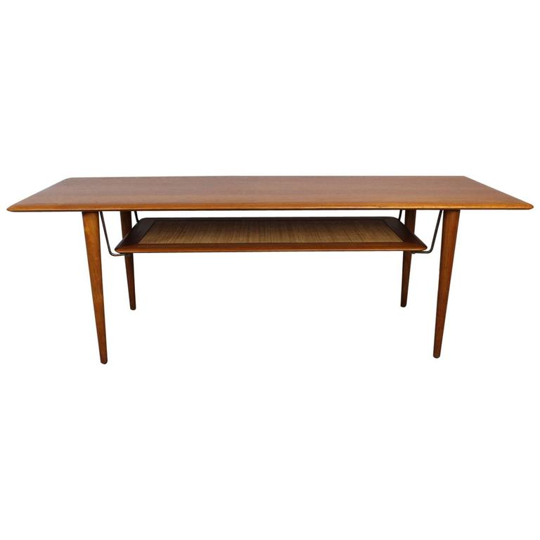 Peter Hvidt Solid Teak Coffee/Cocktail Table for France & Sons For Sale