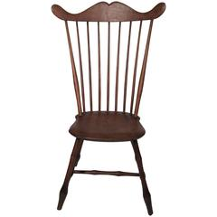 Sculptural and Uncommon New Hampshire Windsor Chair