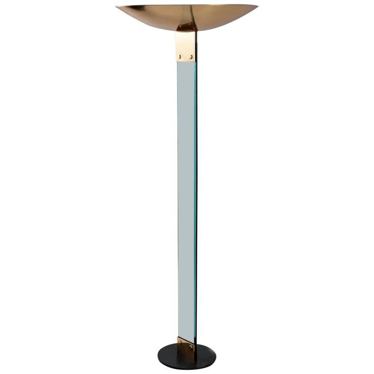 Floor Lamp by Max Baguara for Lamperti Italy, circa 1960