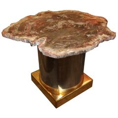 Beautiful Arizona Petrified Wood Table