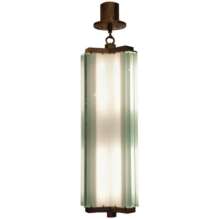 Lantern By Pietro Chiesa Fontana Arte Italy Milan 1930s