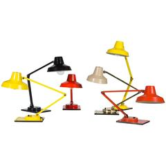 Collection of Model IL 400 Table Lamps by Jay Monroe for Tensor