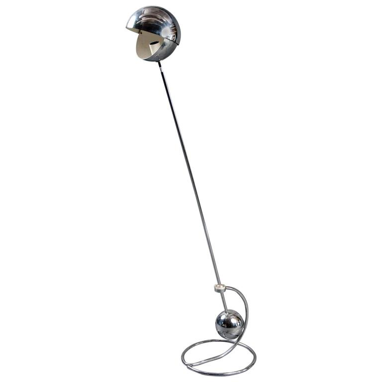Floor Lamp by Paolo Tilche, Sirrah Editors, Italy, 1972 For Sale