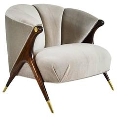 Modernist Lounge Chair by Karpen of California
