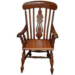 Fruitwood Farmhouse Carver Chair
