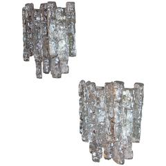 Pair of Sconces by  J. T. Kalmar Austria, 1970s
