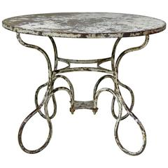 Unusual Iron Table, France, circa 1920s