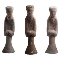 Ancient Chinese Han Dynasty Abstract Statues, 206 BC
