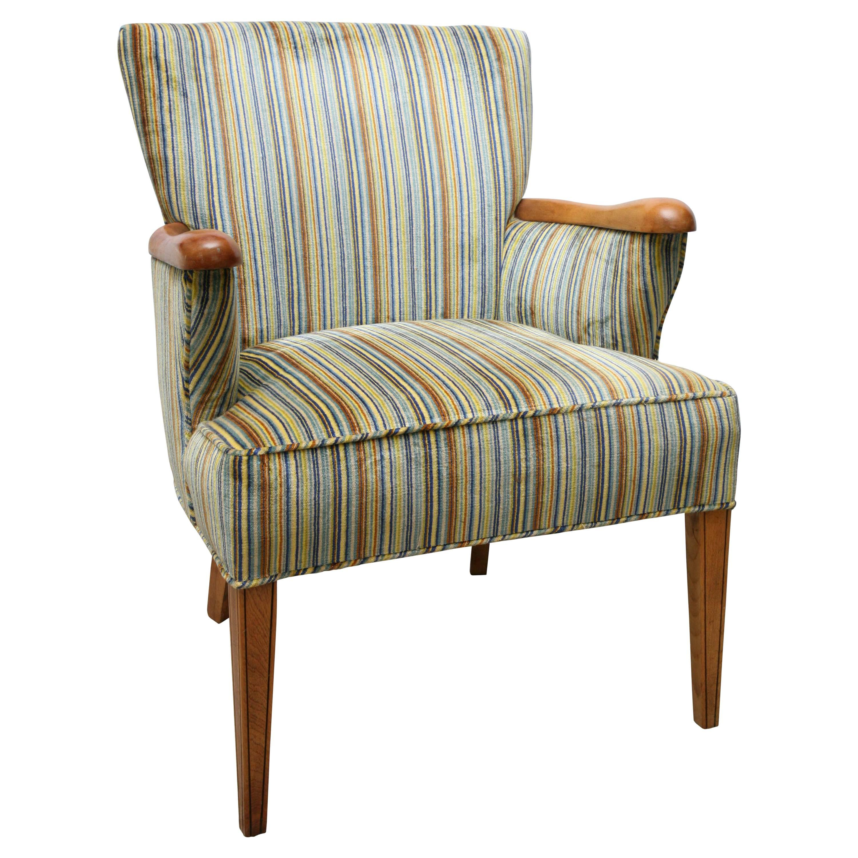 Heywood Wakefield Upholstered Chair, 1960s, USA