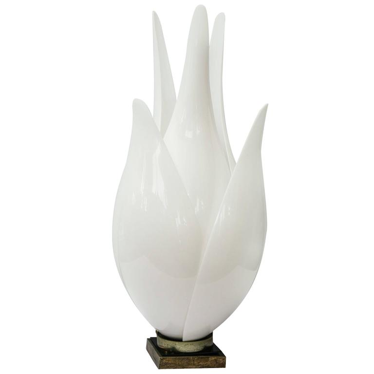 Large Rougier Floriform Tulip Lamp, 1970s, Canada
