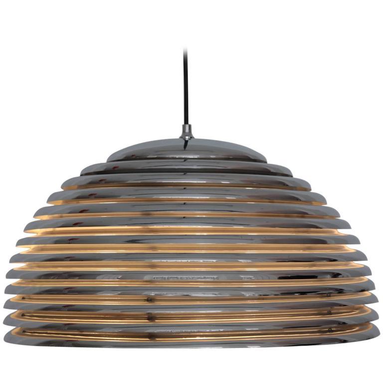 Large Kazuo Motozawa Saturno Pendant Light For Sale