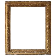 18th Century English Giltwood Picture Frame