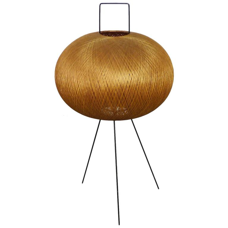 Tripod Floor Lamp in the Style of Isamu Noguchi, Germany, 1950s at ...