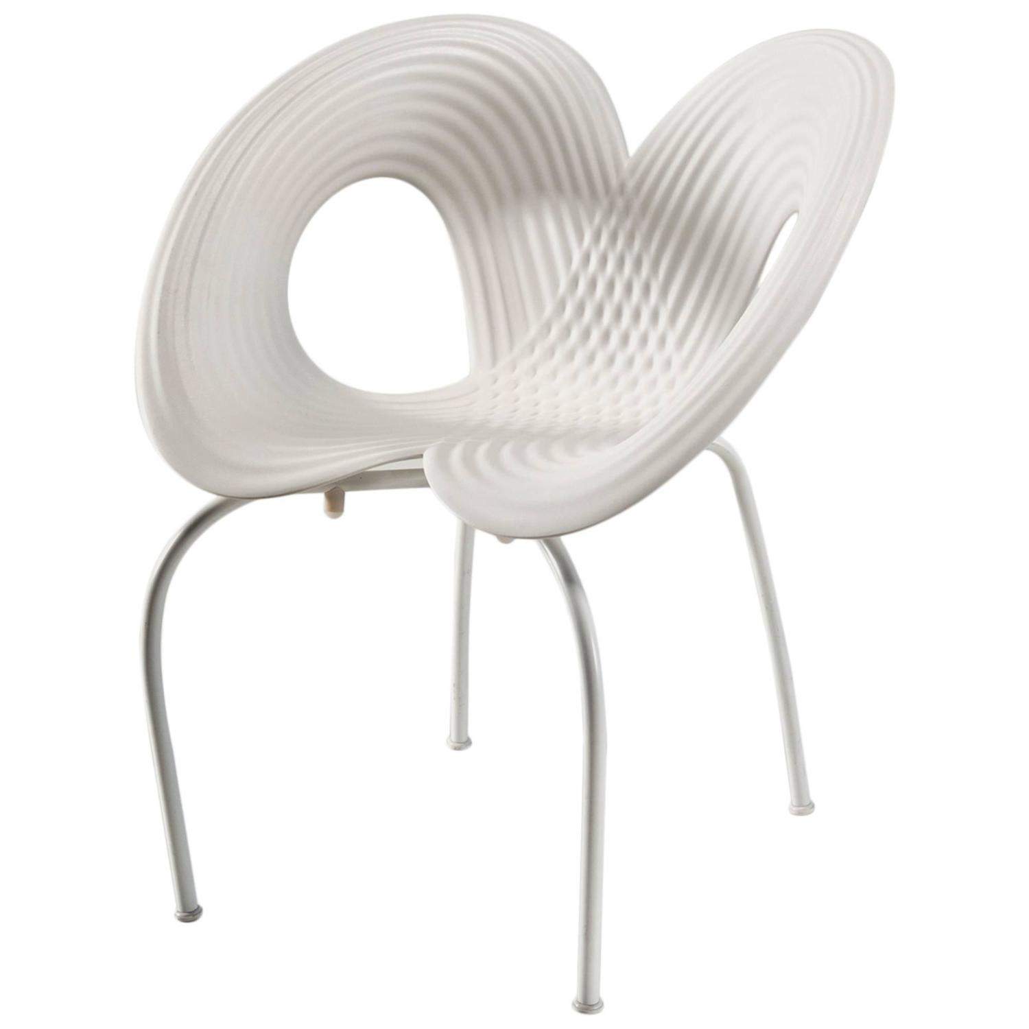 hand signed ripple chair by ron arad for moroso for sale at 1stdibs. Black Bedroom Furniture Sets. Home Design Ideas