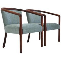 Pair of Monteverdi-Young Lounge Armchairs