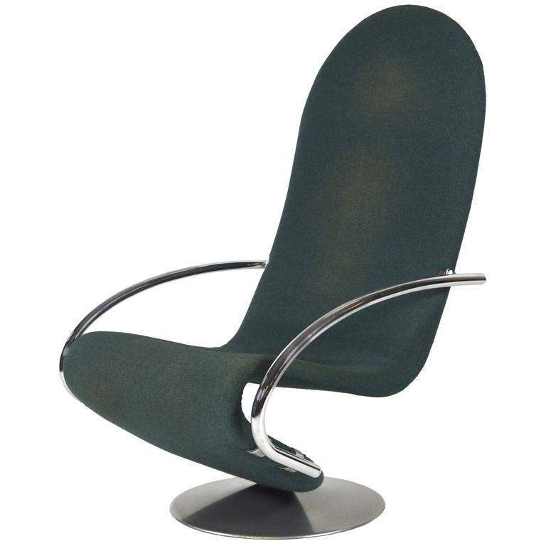 Verner Panton 1-2-3 Swivel Lounge Chair for Fritz Hansen - 1973