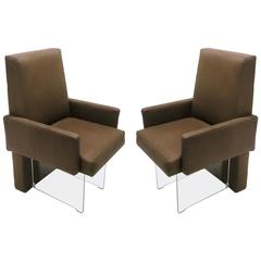 Pair of Armchairs by Vladimir Kagan, American, circa 1970