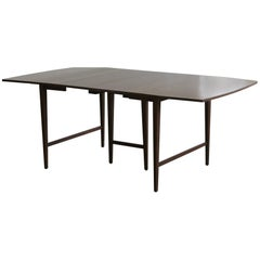 Extendable Drop-Leaf Maple Dining Table by Paul McCobb for Planner Group