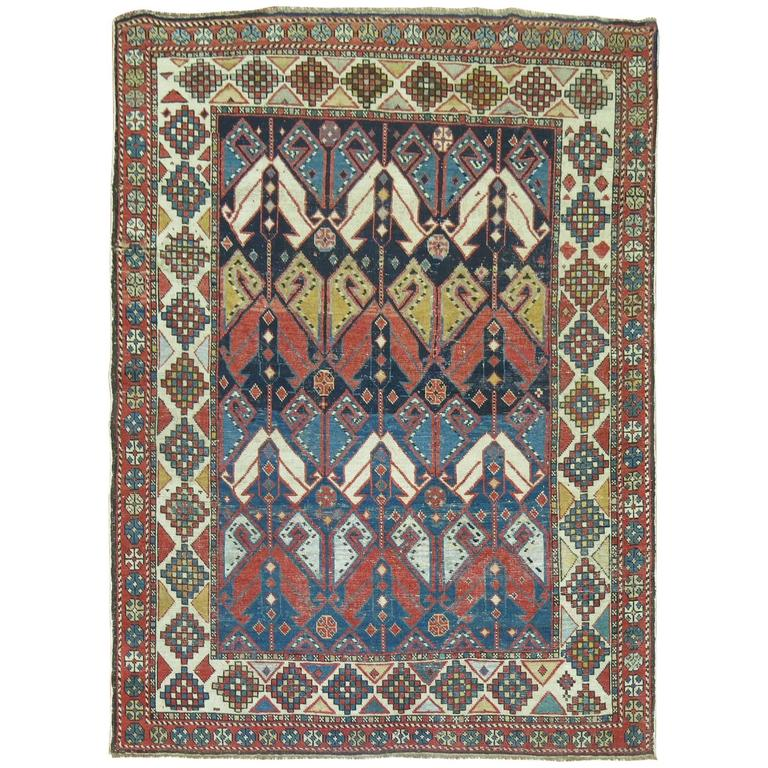 Antique Shirvan Rug 1