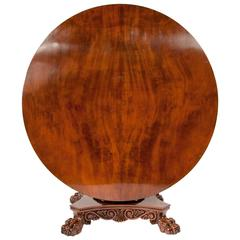 Exceptional Regency Mahogany Centre Table