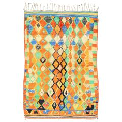 Vintage Moroccan Boujaad Rug