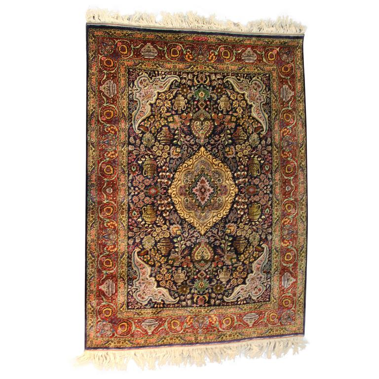 Museum Quality Vintage Persian Rug For Sale At 1stdibs