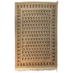 Vintage Persian Rug Paisley Design
