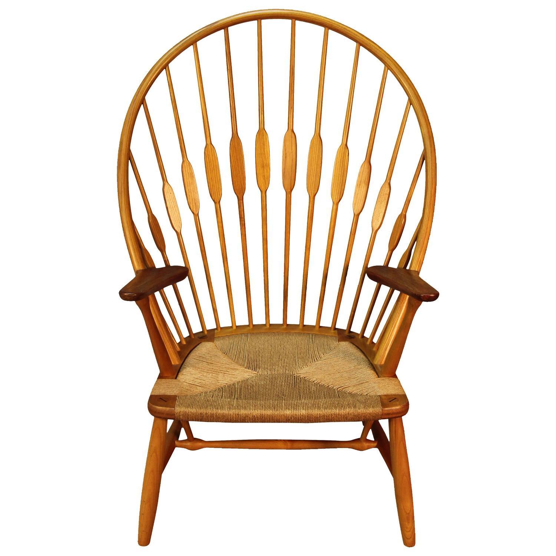 Hans Wegner Peacock Chair For Johannes Hansen For Sale At
