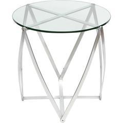John Vesey Aluminum Occasional Table, circa 1960s