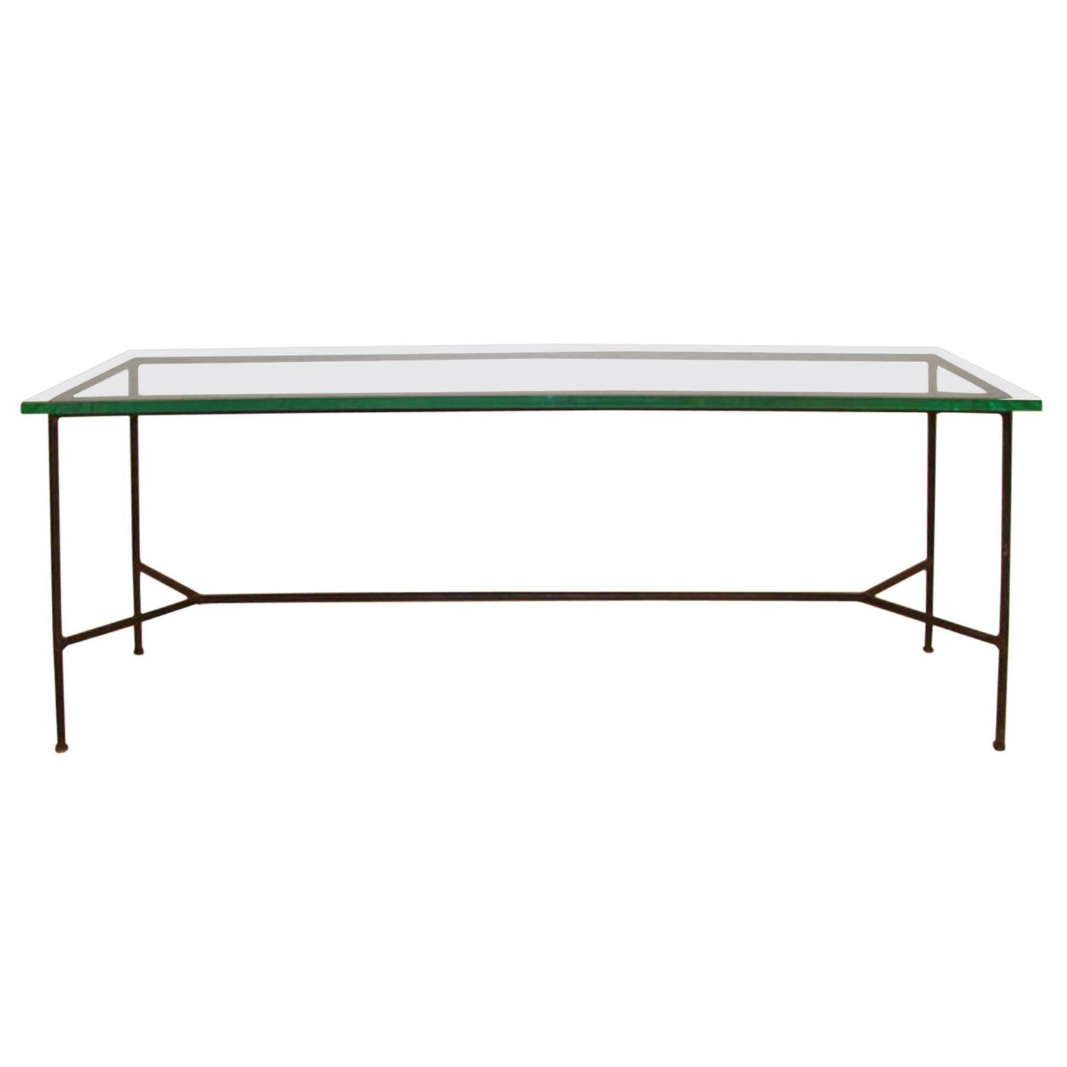Midcentury low console or sofa table for sale at 1stdibs for Low sofa table