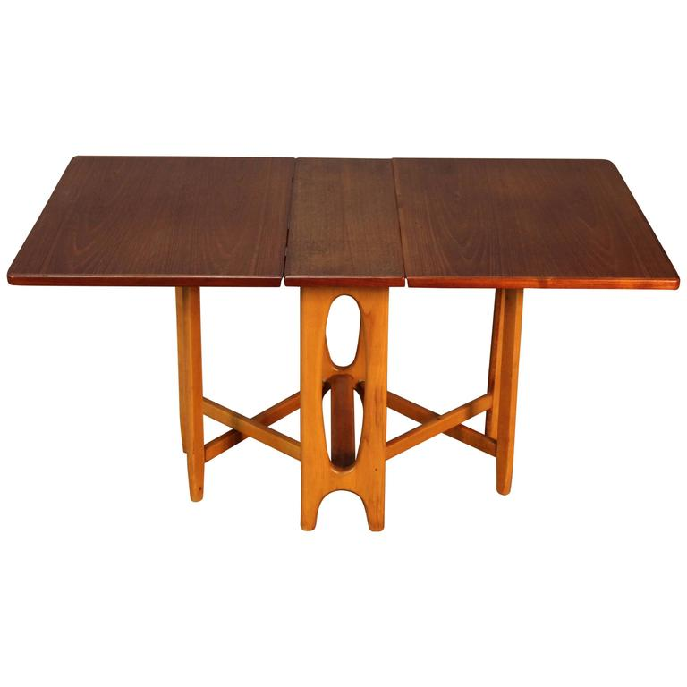 Scandinavian Drop Leaf Gateleg Table For Sale at 1stdibs : 4421113l from www.1stdibs.com size 768 x 768 jpeg 24kB