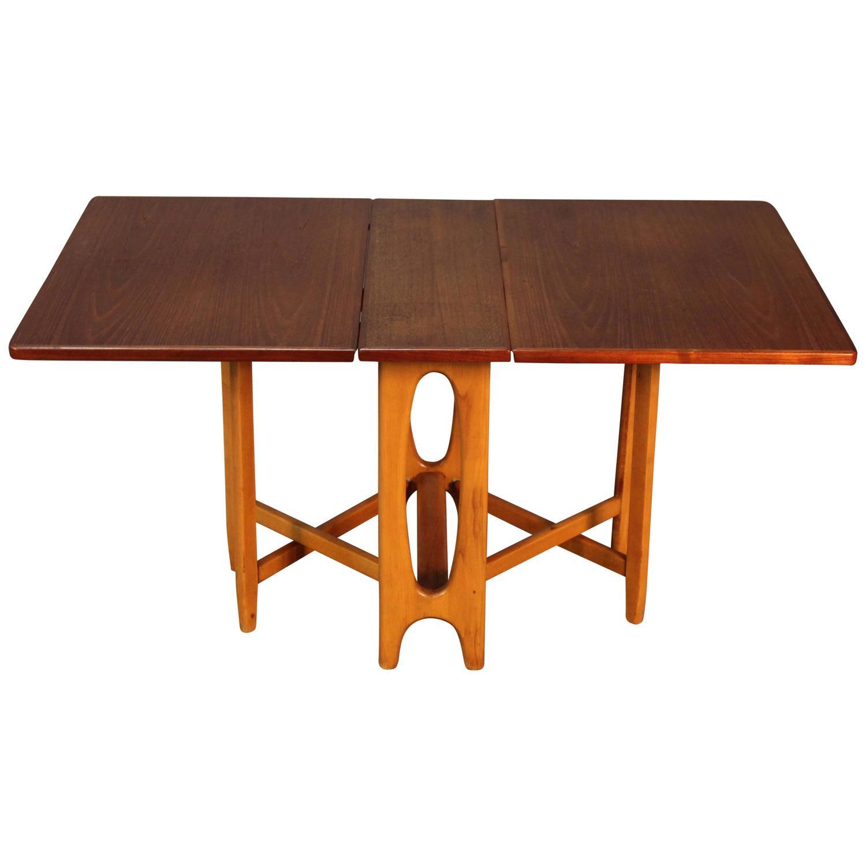 Scandinavian Drop Leaf Gateleg Table For Sale At 1stdibs