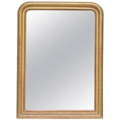 19th C. large gold leafed Louis Philippe Mirror